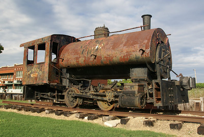 Davenport steam engine in Hugo, OK.  Used for the logging industry in Eastern Oklahoma.