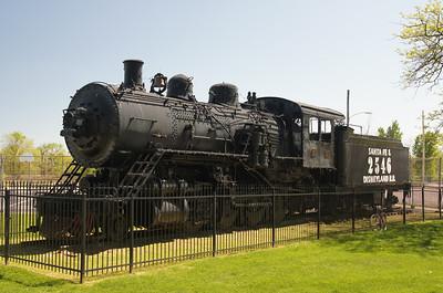 ATSF 2546 in Marceline, MO