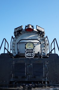 Union Pacific #4023 in Omaha, NE