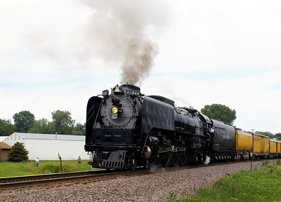 Union Pacific #844 in Carlisle, IA.