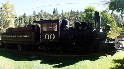 Colorado & Southern #60 in Idaho Springs, CO.