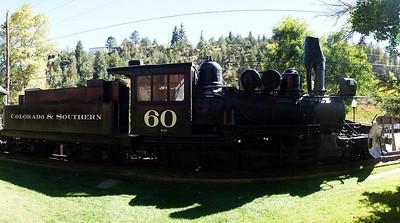 Colorado & Southern #60 in Idaho Springs, CO.