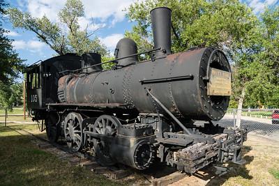 Buffalo, WY Wyoming Railway 105