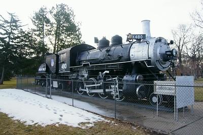Union Pacific #480 in North Platte, NE
