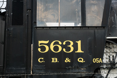 CB&Q 5631 Sheridan, WY