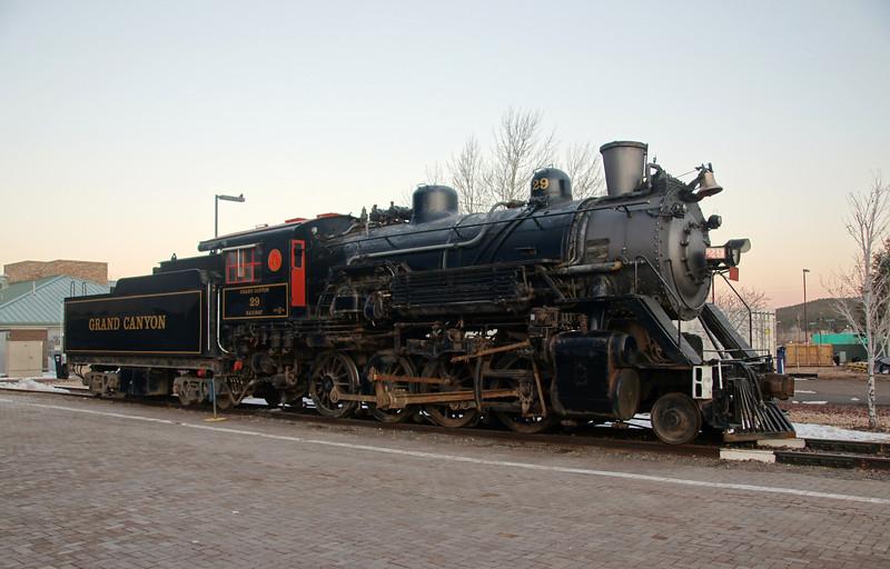 Williams, AZ Grand Canyon Railway