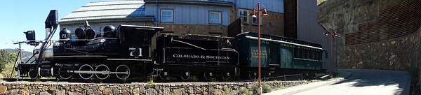 Colorado & Southern #71 in Central City, CO