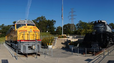 Union Pacific #4023 in Omaha, NE