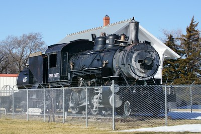 Union Pacific #485 in Lexington, NE