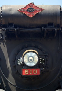 Texas & Pacific #610 at Texas State Railroad