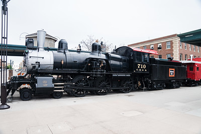Lincoln, NE CB&Q 710