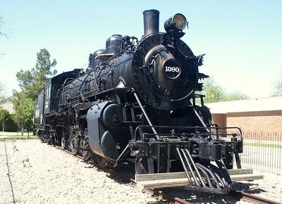 Brownwood, TX AT&SF #1080.