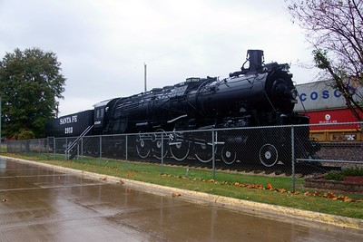ATSF #2913 in Fort Madison, IA