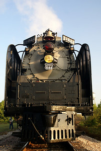 Union Pacific #844 in Waurika, OK.