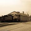 Former N&W 4-8-0 #475 preparing for a day's work at the Strasburg Railroad, Strasburg, PA.
