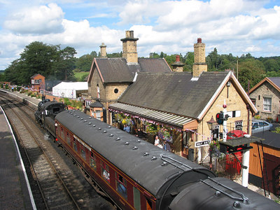 Severn Valley Railway, Arley, 2003.
