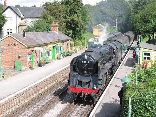 Mid Hants Railway, Four Marks, 2003