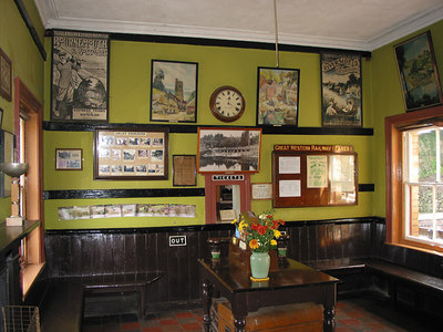 Severn Valley Railway, Arley Ticket Office, 2003