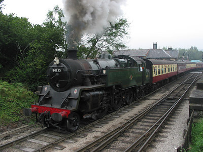 North Yorshire Moors Railway, Grosmont, 2003.