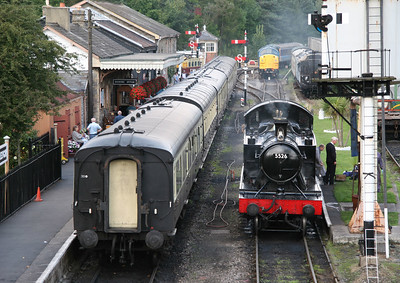 South Devon Railway, Buckfastleigh, September 2005