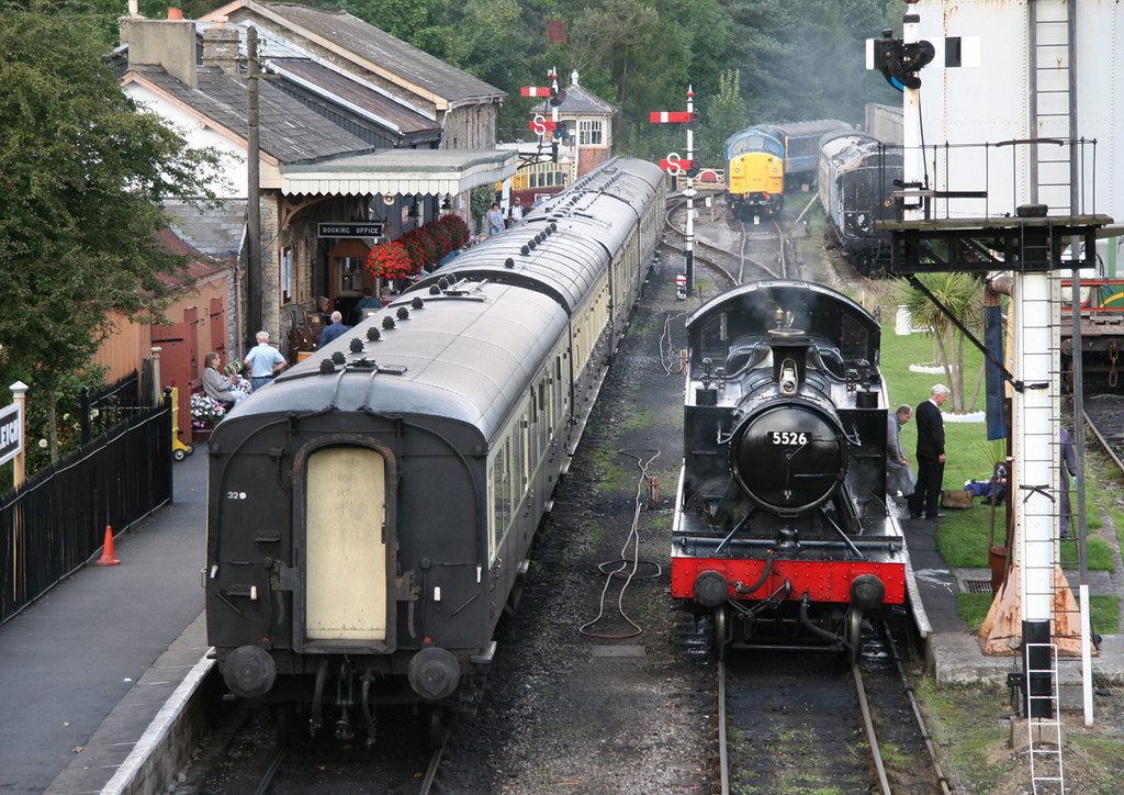 South Devon Railway, Buckfastleigh, September 2005