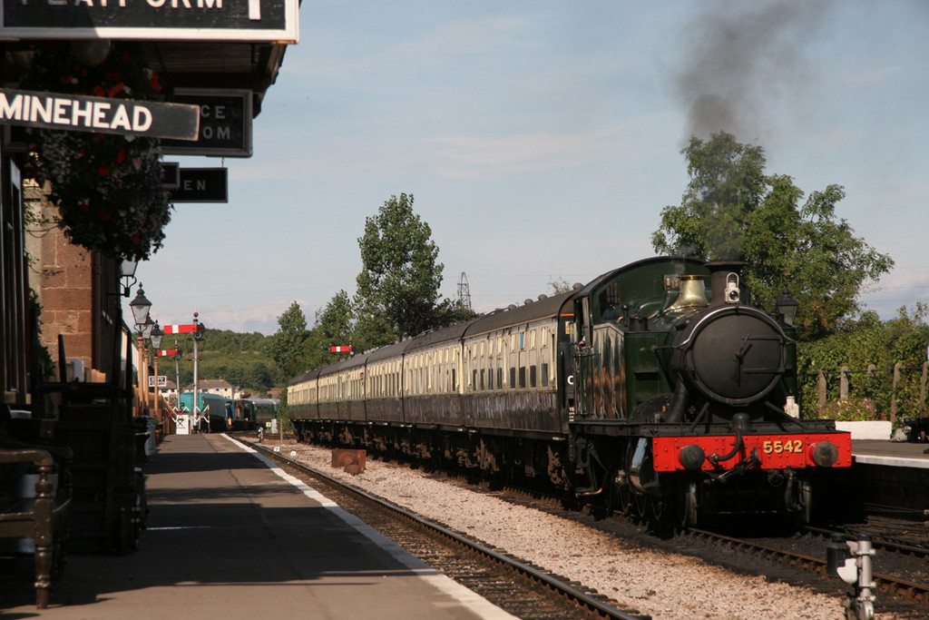 West Somerset Railway, Williton, September 2005.