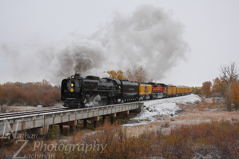 Union Pacific 844 NA Junction Colorado November 2 2011