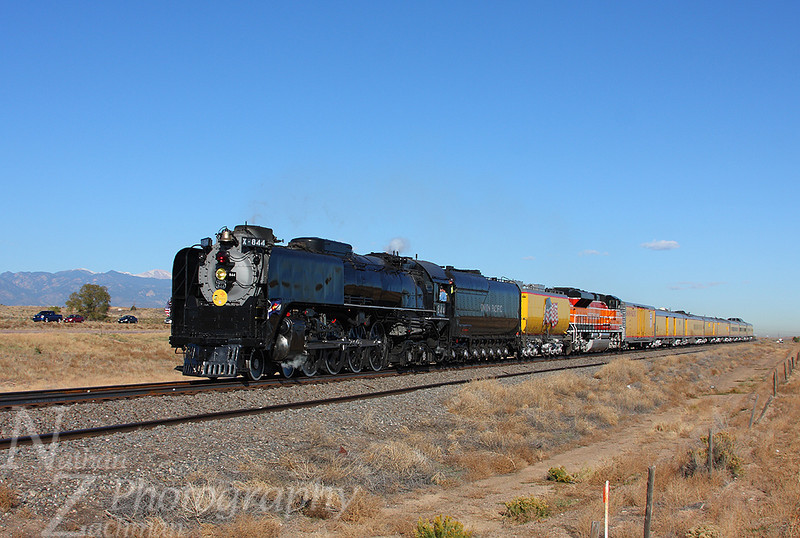 Union Pacific 844 Wigwam Colorado November 1 2011