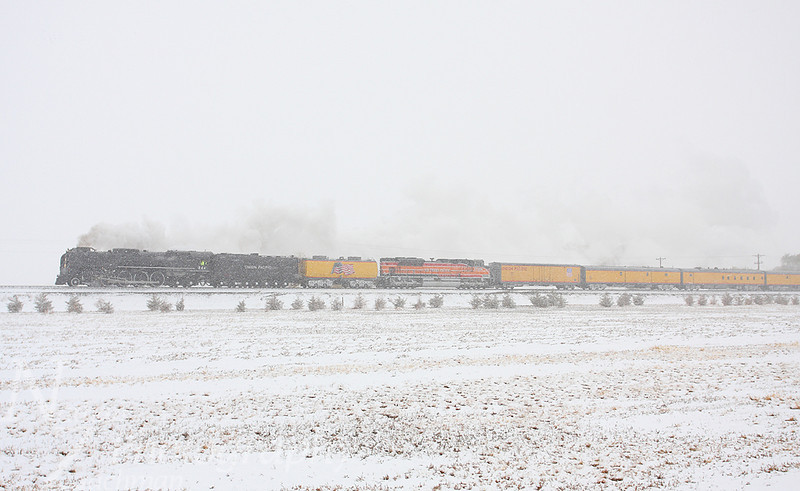 Union Pacific 844 Swink Colorado November 2 2011