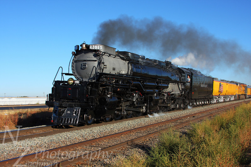 Union Pacific 3985 4-6-6-4 Challenger, Greeley Colorado, September 28 2010.