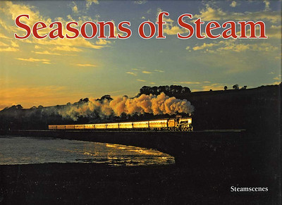 Seasons of Steam Steam in Britain has enjoyed a renaissance unequalled anywhere in the world - thanks to the Railway Preservation Movement & the dedication, enthusiasm and hard work of volunteers & professional railwaymen. Incorporating a small number of classic images from the popular 'Seasons of Steam' calendar series alongside many previously unpublished photographs, this 104-page pictorial tribute invites you to celebrate more than 40 years of British preserved steam.  The contributors to Seasons of Steam have tried to convey the thrill of photographing steam today. Is it possible that pictures of preserved steam could equal those taken during the 'Glorious Years'? Only you can be the judge! Seasons of Steam concentrates on steam in the landscape. Each page invites you to turn back the clock, not to lament the loss of a favourite engine or railway line, but to celebrate Britain's steam heritage, to marvel at what has been saved. In many instances, double-page spreads depict the same engine, or class, in a contrasting season or setting. Elsewhere representatives from the same region complement each other. The authors make no apologies for their bias towards British Railways livery - good, bad or indifferent, it was the livery that we knew! $39.95+Shipping
