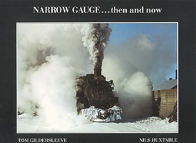 Narrow Gauge...then and now The Rio Grande narrow gauge at work in its final years. Double-headers, pushers and flanger trains of the early 1960's, plus recent glimpses of the Cumbres and Toltec and Durango and Silverton Narrow Gauge Railroads.  48 pages - Size 230mm x 300mm - Soft Cover - 56 colour photos - $14.95+Shipping