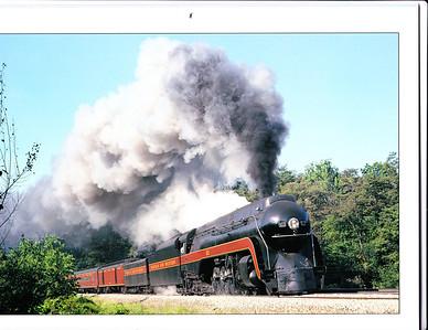N&W J-class 4-8-4 No. 611 on Blue Ridge