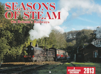 SEASONS OF STEAM on Britain's Railways – two B1 4-6-0s at Barrow Hill; a Worsdell J15 0-6-0; a WR 'Large Prairie' tank; N15 4-6-0 Sir Lamiel; a 'Hall' and 'Castle' doubleheader; a 'Mickey Mouse' 2-6-2T; a 9F 2-10-0 leaving Grosmont; two 'Black Five' 4-6-0s on Knucklas Viaduct; a 'Greyhound' T9 4-4-0; an 0-6-0PT in the Forest of Dean; a BR Standard Caprotti 4-6-0; the Bluebell Railway in winter.