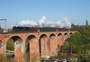 45305 seen crossing Chester le street viaduct with 1Z61 the 08.02hrs Newcastle to Stanhope<br /> 15/10/2011