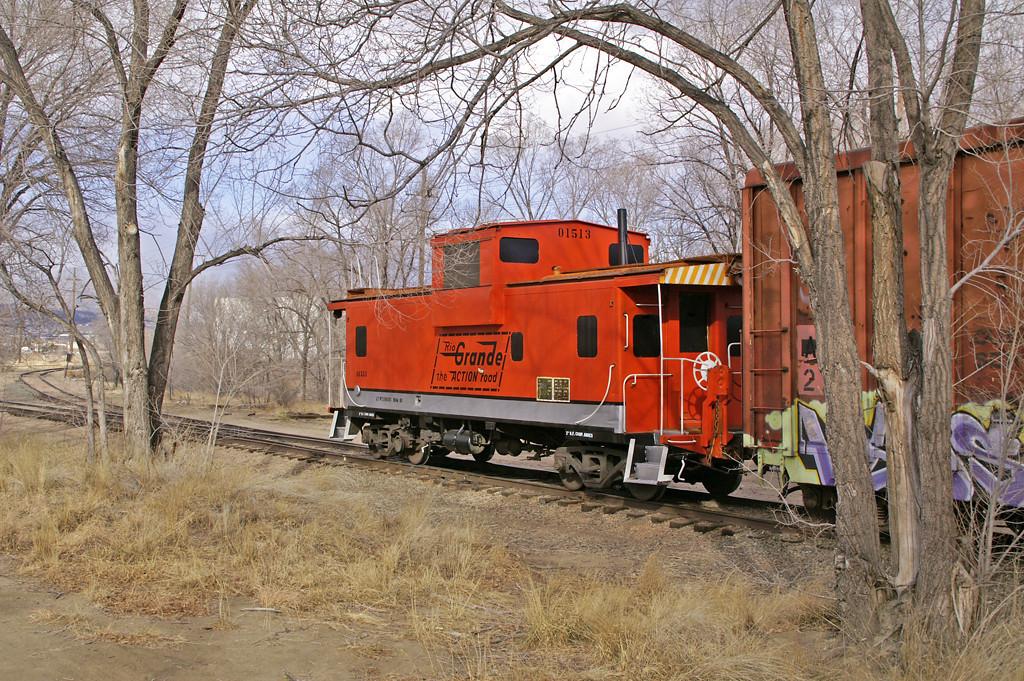 Rio Grande hybrid painted caboose 01513