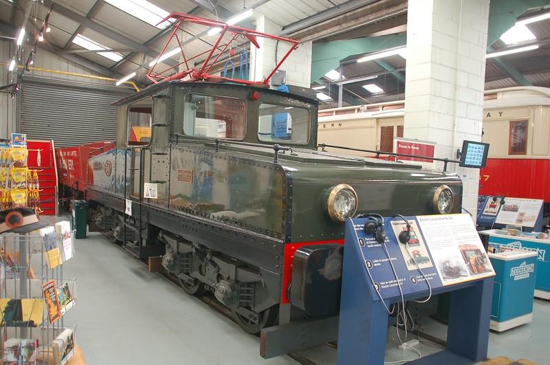 Siemens 457 E4 - Stephenson Railway Museum - 14 August 2018