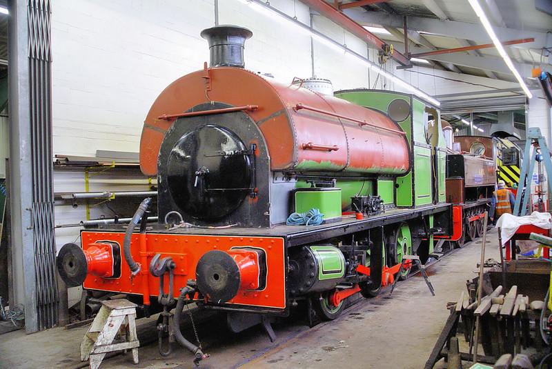 1970 Peckett 0-6-0ST Stephenson Railway Museum
