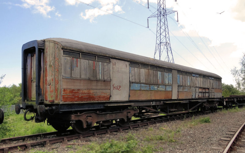 70754 LNER Full Brake - Stephenson Railway Museum 12.06.12