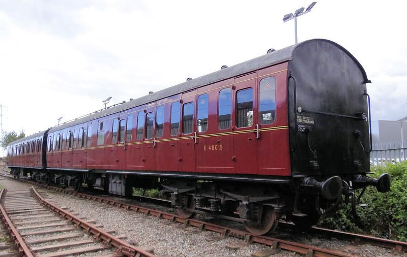 48015 Mk1 SLO Suburban - Stephenson Railway Museum 12.06.12