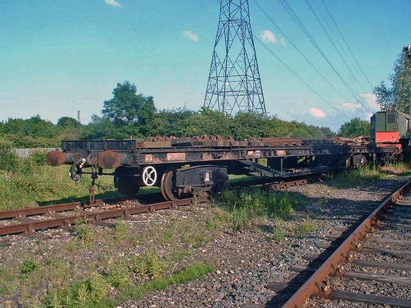 996297 Bogie Long Flat 'Salmon' - Stephenson's Railway Museum