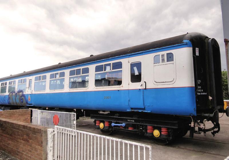 5224 (2301) Mk2 TSO - Stephenson Railway Museum 12.06.12