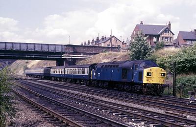 Class 40 No 40135 at Neville Hill