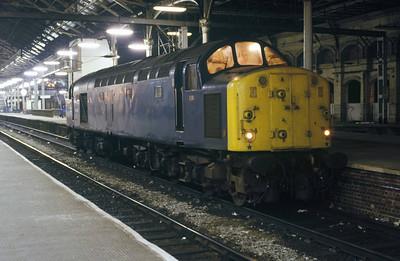 Class 40 No 40009 at Preston