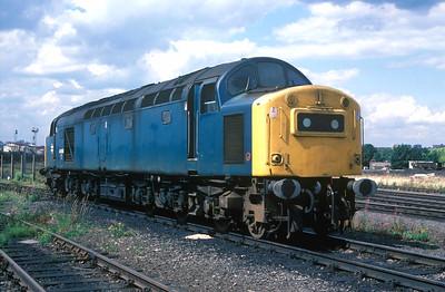 Class 40 No 40060 in Leeds Oil Terminal