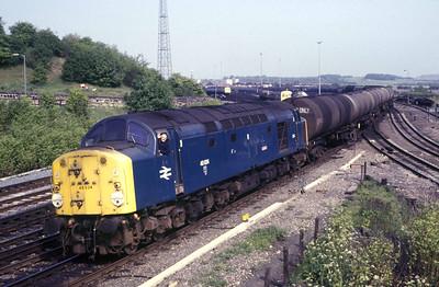 Class 40 No 40024 at Neville Hill