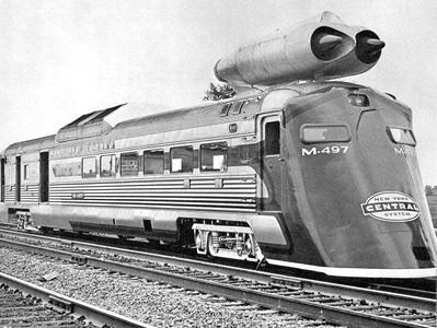 Strange weird trains