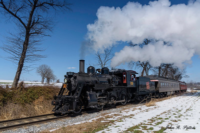 Strasburg Railroad steam train