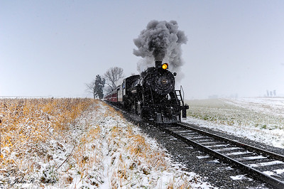 Strasburg Railroad steam train