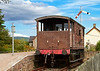 Brake Van at Broomhill Station - 12 August 2012